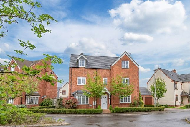 Thumbnail Detached house for sale in Dean Forest Way, Milton Keynes