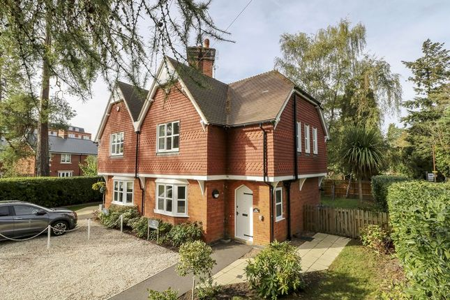 Thumbnail Semi-detached house for sale in Lynwood, Rise Road, Sunningdale, Ascot