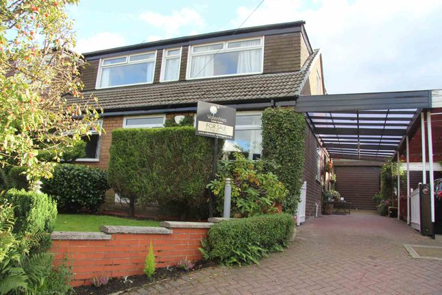 Thumbnail Semi-detached house for sale in Great Meadow, Shaw, Oldham