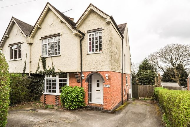 Thumbnail Semi-detached house for sale in Evesham Road, Redditch