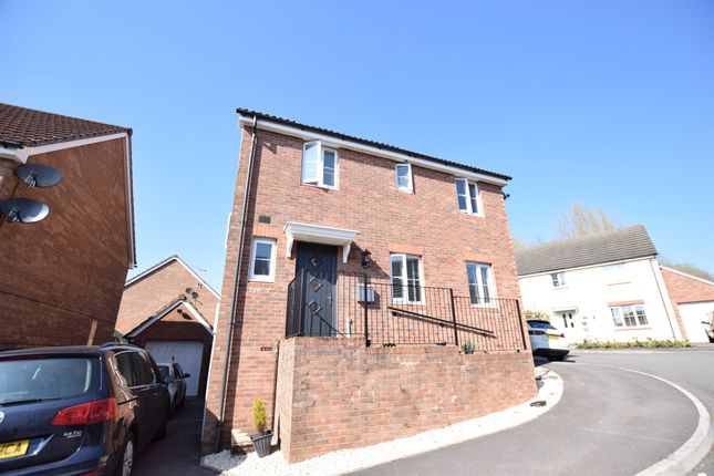 Thumbnail Detached house for sale in Marsh Court, Aberbargoed, Bargoed
