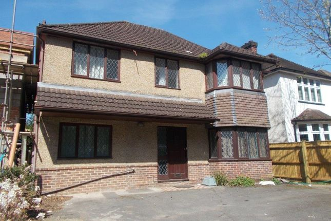 Thumbnail Detached house to rent in Burgess Road, Southampton