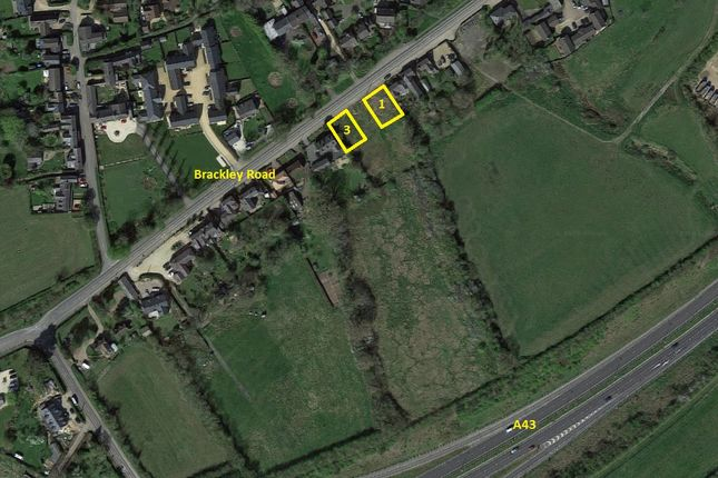 Thumbnail Land for sale in Brackley Road, Silverstone, Towcester