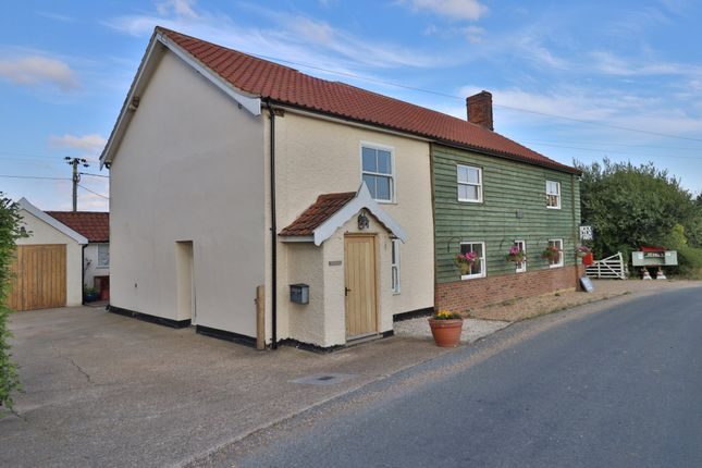 2 bed semi-detached house for sale in Worlingworth Road, Athelington, Eye IP21