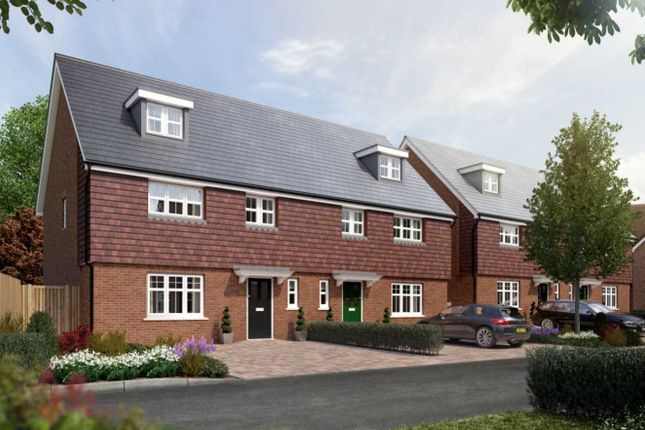 Thumbnail Semi-detached house for sale in Manor Fields, London Road, Southborough, Tunbridge Wells