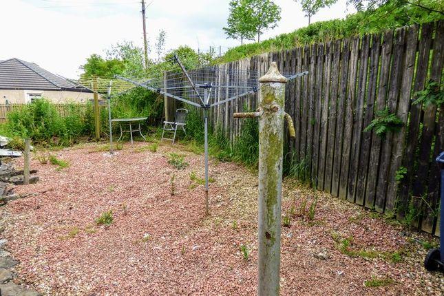 Rear Garden of Milton, Lesmahagow, Lanark ML11