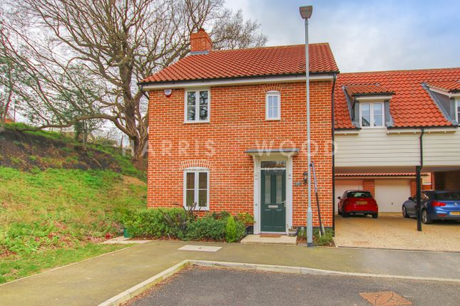 Thumbnail Link-detached house for sale in Butterfly Trail, Stanway, Colchester