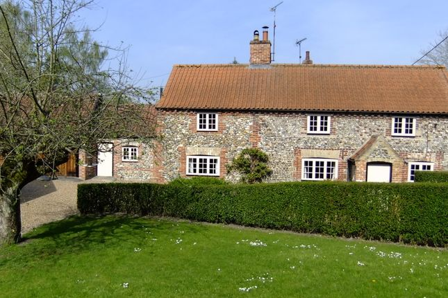 Thumbnail Detached house for sale in Westgate Street, Hilborough, Norfolk