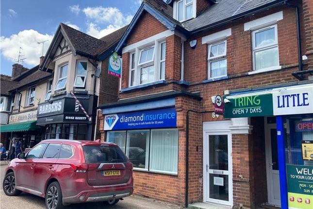 Thumbnail Retail premises for sale in 64 & 64A Western Road, Tring, Hertfordshire