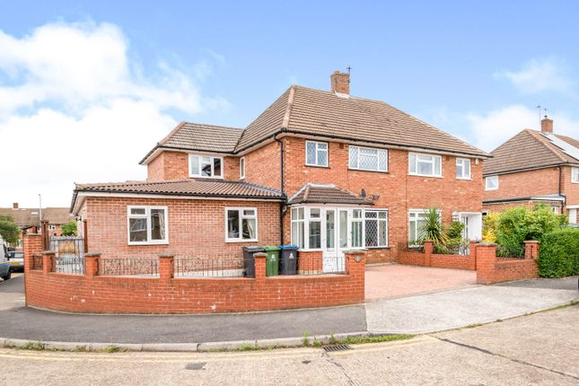 Thumbnail Semi-detached house for sale in Whitehall Crescent, Chessington