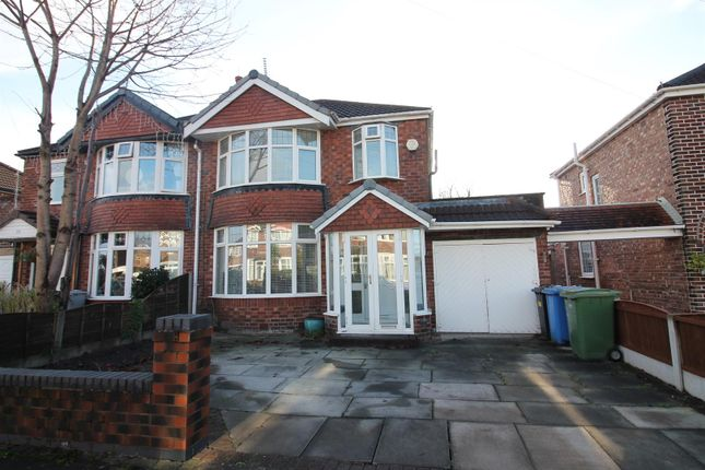 3 bed semi-detached house for sale in Kirkstall Road, Urmston, Manchester M41