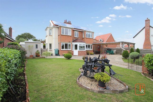 Thumbnail Detached house for sale in Talbot, Station Road, Campsea Ashe, Woodbridge
