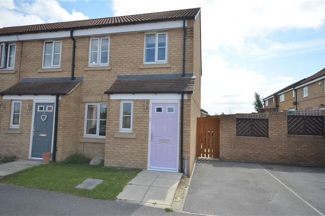 Thumbnail Town house to rent in Lavender Mews, Castleford