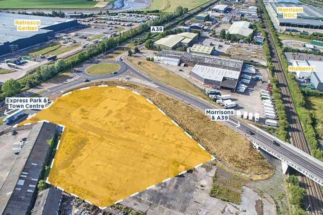 Thumbnail Land for sale in Bristol Road, Bridgwater