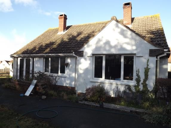 Thumbnail Bungalow for sale in Catcott, Bridgwater, Somerset