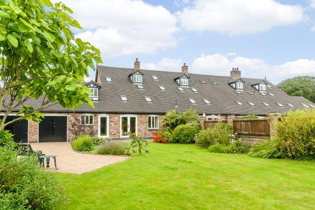Thumbnail Farmhouse for sale in Haughton, Tarporley