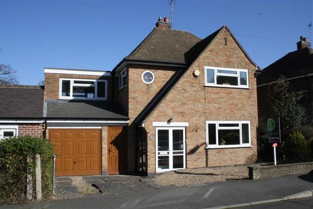 Thumbnail Detached house for sale in Steyning Crescent, Glenfield, Leicester