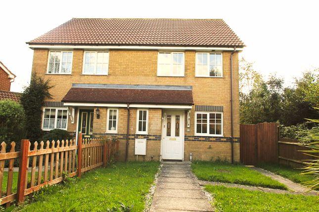 Thumbnail Semi-detached house to rent in Stansfeld Avenue, Hawkinge
