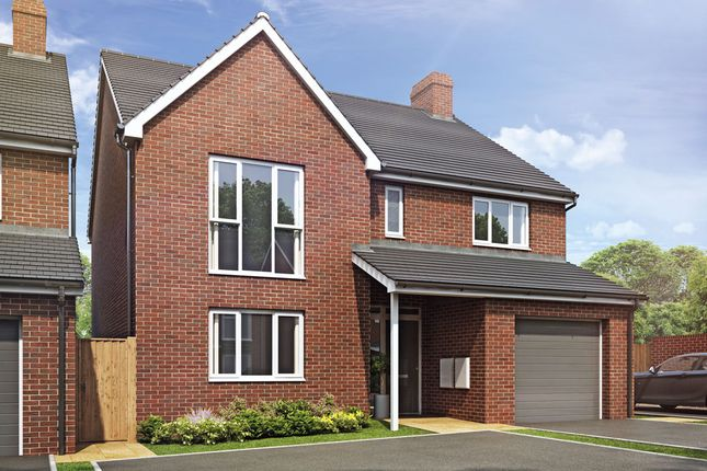Thumbnail Detached house for sale in Plot 88 Weogoran Park, Whittington Road, Worcester