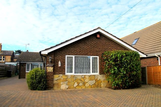 Thumbnail Detached bungalow for sale in Manor Way, Lee-On-The-Solent