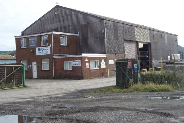 Industrial to let in Llewellyn's Quay, Port Talbot