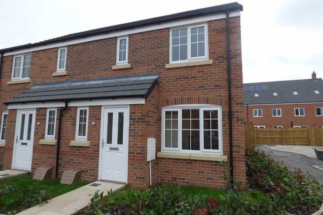 Thumbnail Semi-detached house for sale in Butterwort Close, Shavington, Crewe