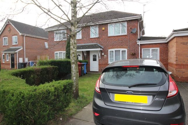 Thumbnail Semi-detached house to rent in Deanwood Close, Whiston, Prescot