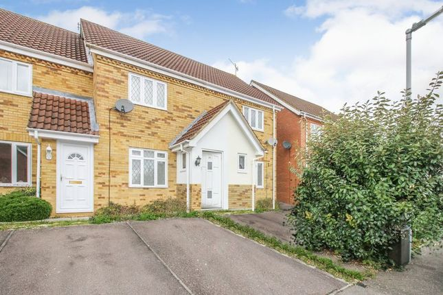 Thumbnail Semi-detached house to rent in Wiseman Close, Bushmead, Luton