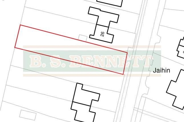 Thumbnail Land for sale in Coppermill Road, Wraysbury, Staines