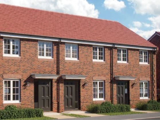 Thumbnail End terrace house for sale in Diamond Drive, Great Western Park, Didcot, Oxfordshire