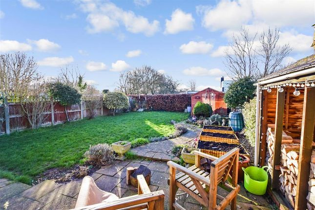 Rear Garden of Eagle Close, Larkfield, Aylesford, Kent ME20