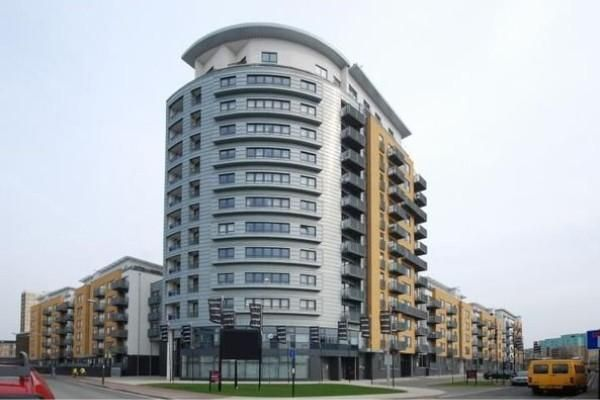 Front of Tarves Way, Greenwich, London SE10