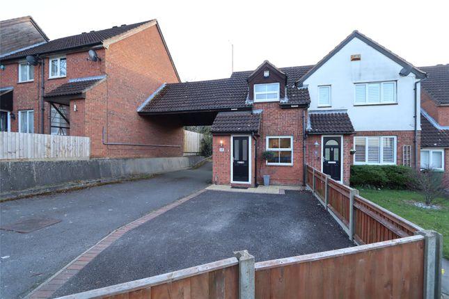2 bed end terrace house for sale in Winterburn, Heelands, Milton Keynes, Bucks MK13
