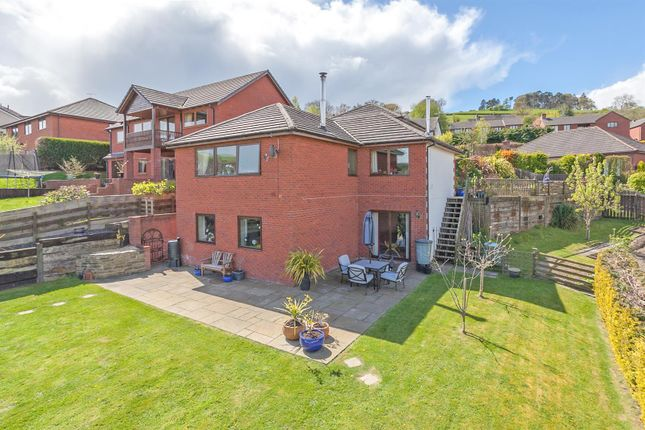 Thumbnail Detached house for sale in Grove Close, Knighton