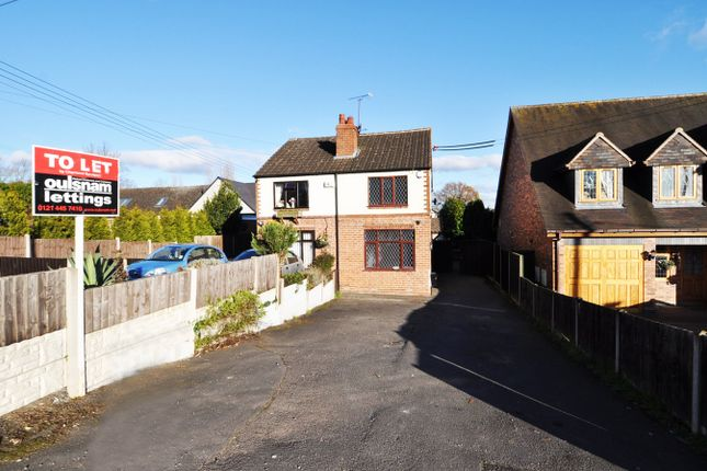 Thumbnail Semi-detached house to rent in Redditch Road, Alvechurch, Birmingham