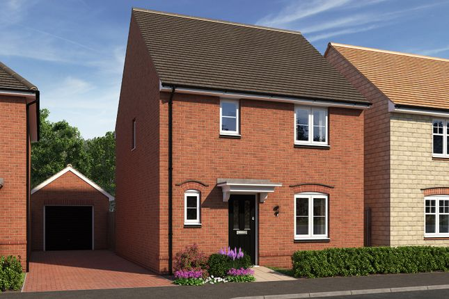 "Thumbnail Detached house for sale in ""The Elliot"" at Moormead Road, Wroughton, Swindon"