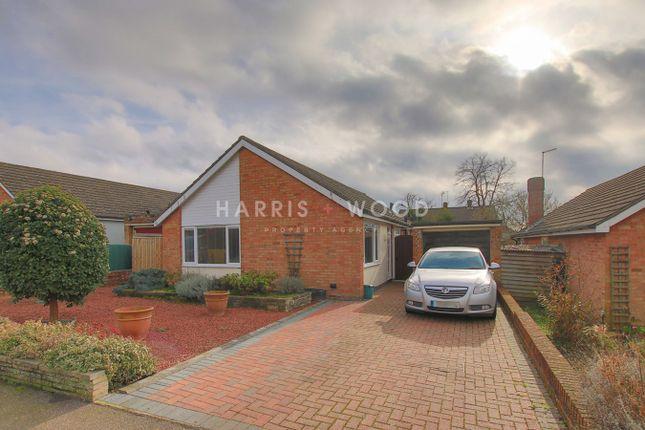 Thumbnail Detached bungalow for sale in Hazelton Road, Colchester