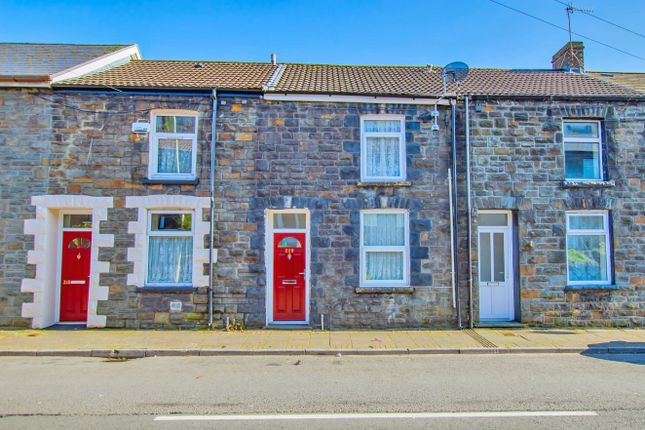 Front View of East Road, Tylorstown, Ferndale, Mid Glamorgan CF43