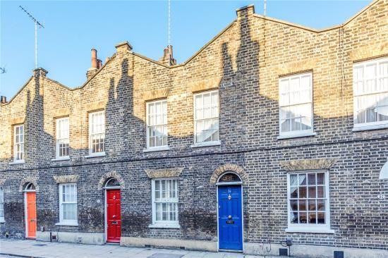 Thumbnail Terraced house for sale in Roupell Street, London
