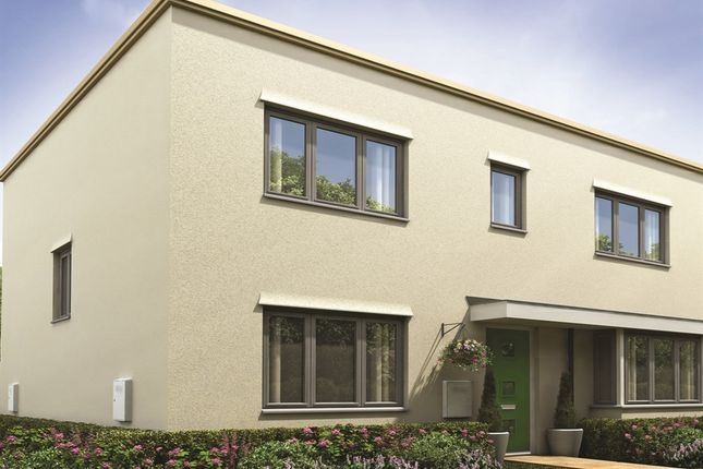 """Thumbnail Semi-detached house for sale in """"The Chedworth"""" at Thomas Bata Avenue, East Tilbury, Tilbury"""