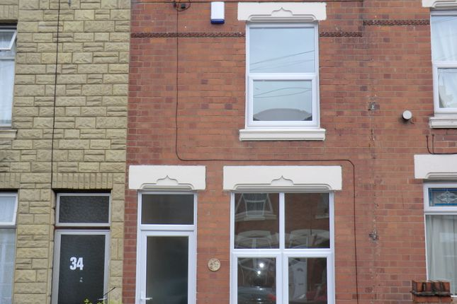Thumbnail Terraced house to rent in Marlborough Road, Coventry
