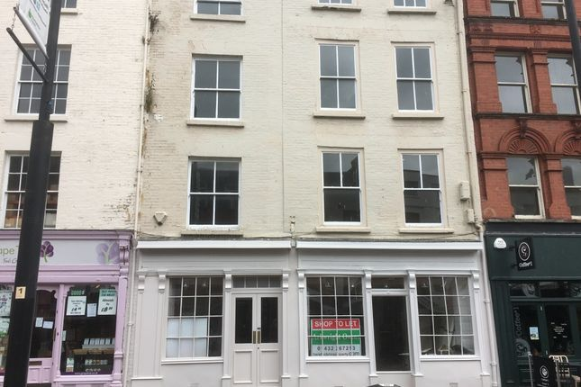 Thumbnail Property to rent in 2-3 High Town, Hereford, Hereford, Herefordshire