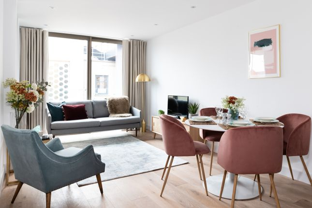 Living Area of Apartment 1, Lower Ground Floor, 215A Balham High Road, Balham SW17