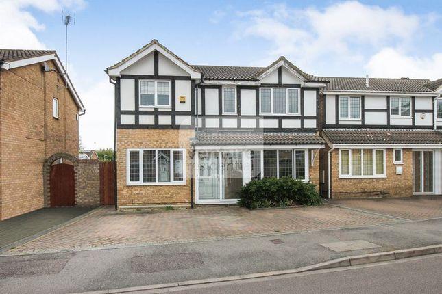 Thumbnail Semi-detached house for sale in Milton Way, Houghton Regis, Dunstable