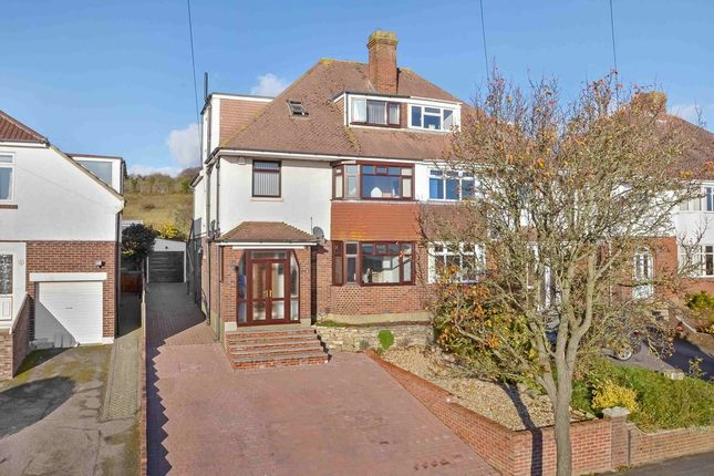 Thumbnail Semi-detached house for sale in Woodfield Avenue, Farlington, Portsmouth