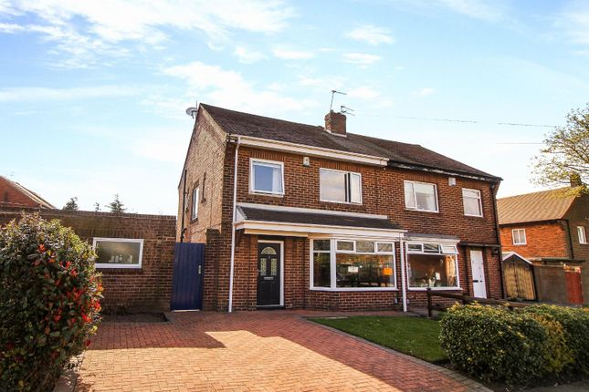 Thumbnail Semi-detached house for sale in Appletree Gardens, Whitley Bay