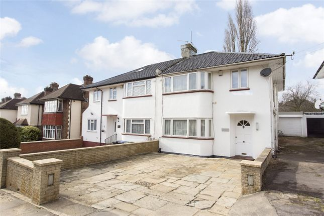 Thumbnail Semi-detached house for sale in Arnos Grove, Southgate