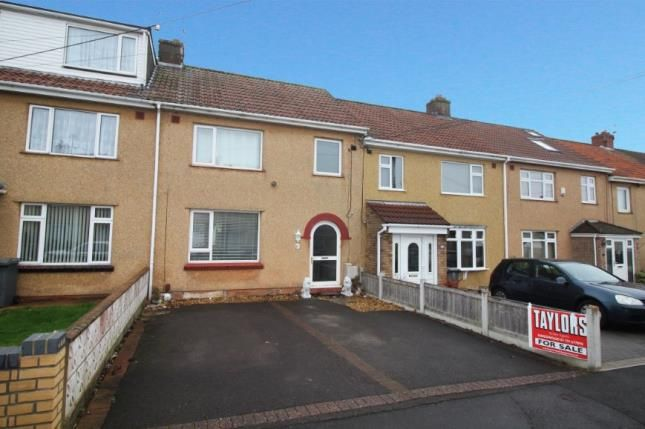Thumbnail Terraced house for sale in Pettigrove Gardens, Kingswood, Bristol