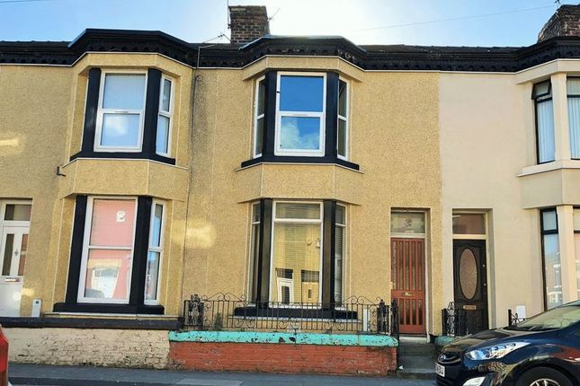 Thumbnail Terraced house to rent in Scott Street, Bootle