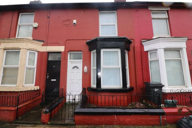 Thumbnail Terraced house to rent in Longfield Road, Litherland, Liverpool